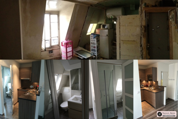 travaux, APPARTEMENT, PARIS, RENOVATION, peinture
